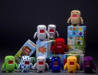 Wholesale 50lot Domo Kun Action Figures PVC Toys Domo Movable Figures set Box Packaged inch