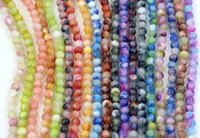 Wholesale Hot Sell mm NEW Mix Color Loose Round Chic Persia Jade Spacer Beads DIY Jewelry