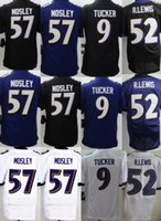 Wholesale Men s Ravens Ray Lewis Justin Tucker Steve Smith Sr CJ Mosley Joe Flacco Stitched Jerseys Number