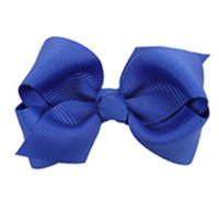 Wholesale Bowknot hairpin of the girls Dovetail bowknot children baby duck clip headdress manufacturers selling free postage