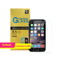 Wholesale 2 D Tempered Glass For iphone S plus Screen Protector mm Explosion Proof Film iphone S Galaxy S6 S5 Note