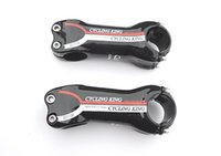 Wholesale Special new cycling king White and red carbon stem road mountain bike stem mm