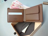 Wholesale Wallet Men Short Paragraph Eighty Percent Off Ladies Leather Wallet Change short clip a piece of goods wallet
