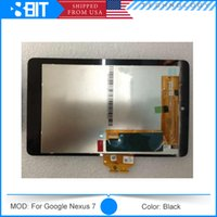 Wholesale 1Pcs For Nexus ME370T Tablet LCD Display Digitizer Assembly Replacement Repair Parts Touch Panel for Nexus Black