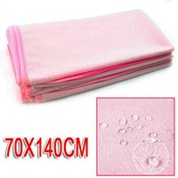 Wholesale SZS Hot x Cotton Waterproof Sheets cm x cm for Baby Bed Pink