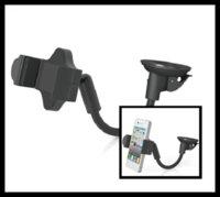 Wholesale 200Pcs Degree Rotation Goose Neck Car Suction Up Holder For Smart phones GPS HC03