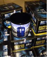 awesome mugs - Winter Cup Doctor who Mug Disappearing Tardis mug with Original Box Awesome Heat sensitive Police Coffee Cup Doctor Who christmas mugs