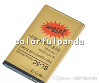 Wholesale 2014 High Capacity Gold BL C BL C replacement Battery for Nokia V mah