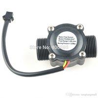 Wholesale G3 quot Water Flow Sensor Switch Flow Meter Flowmeter Counter L min FZ1478