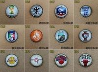 Wholesale 2016 D Car Stickers Badges Auto accessories decorative stickers15pcs mm Fashion Phone Paste Cartoon Football Team D