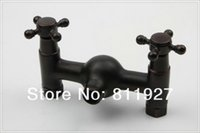 antique laundry - mixer antique high latest new fashion style orb black color oil rubbed bronze bathroom shower faucet set steel laundry tub
