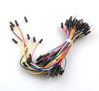 Wholesale 65 X Flexible Solderless Male Male Breadboard Jumper Cable Wires Brandnew
