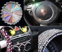 Wholesale 504 sheet MM Beauty mm Dot Say It In Crystals Rhinestones Car DIY Decal Decor Stickers Styling Accessories