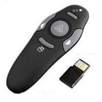 Wholesale car Wireless Presenter with Red Laser Pointers Pen USB RF Remote Control PPT Powerpoint Presentation Mouse