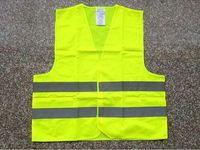 Wholesale 50pcs Green orange Reflective safety vest coat Sanitation vest Traffic safety warning clothing vest Y68