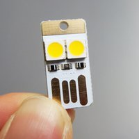 Wholesale 2 LEDs USB mini Lights V for Notebook Computer Laptop PC power camping LED lamps