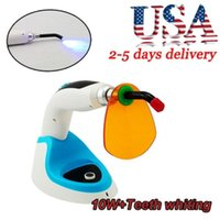 Wholesale 1800MW W Wireless Cordless LED Dental Curing Light Lamp W Teeth Whitening USA
