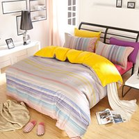 abc bedding - New spring and summer cotton bedsheet ABC Colorful activity bedding set Simple fashion personality Twill Printing textile