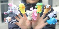 baby toy links - Vip link gt DHL Free Baby Plush Toy Finger Puppets Talking Props animal group