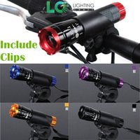 Wholesale 5W CREEQ5 LED XAluminum Waterproof AAA Battery With Holder Front Cycling Bike Bicycle Lights Lamps Lantern Flashlight