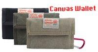 Wholesale Rough Enough Canvas Classic Casual Wallet Purse Case Durable Fancy Simple Basic Bifold W