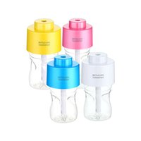 Wholesale Factory Price Acoustic Audio Portable Bottle Cap Air Humidifier with bottle for office home travel Waitingyou
