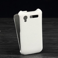 atom pattern - High Quality Lichee Pattern flip Leather Case for Explay Atom ultra thin leather cover