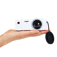 Wholesale UNIC UC18 the smallest LCD mini pocket Projector with HDMI TF Card USB CVBS LED projector