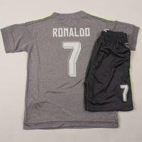 kids football shirts - Real Madrid Kids RONALDO JAMES BALE Thailand Quality Survetement Football Shirt Kits Soccer Jersey Camisa