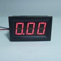 Приборная панель амперметр ампера Отзывы-4 PCS / LOT Мини амперметр DC 0-9.99A ток Ампер метр панели Цифровой амперметр Источник питания DC4.5-28V с красной светодиодной подсветкой