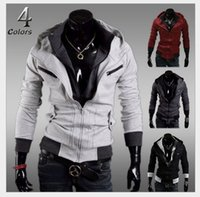 Wholesale New coats men outwear Mens Special Hoodie Jacket Coat men clothes cardigan style jacket
