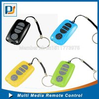 Wholesale Universal Wireless Bluetooth Self timer Remote Shutter Release Control Button for iPhone S C Samsung Galaxy S5 i9600 S4 S3