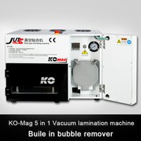 Wholesale Newest with bubble remove machine for inch screens LY898 automatic OCA laminator lcd vacuum laminating machine