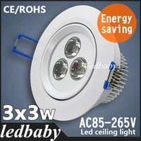 Wholesale 2015 new style W LED Ceiling Lamps Downlight AC85 v Warm White Cool white Ceiling LED Lights For Home CE ROHS
