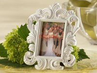 Wholesale White black Elegant Place Card Holder Photo Frame For Wedding Gift Favor
