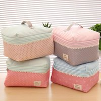 Wholesale Women Multifunctional Storage Travel Bag Waterproof Cute Outdoor Bra Case Underwear Organizer hanging Cosmetic Bag