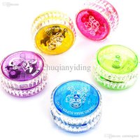 Wholesale Flashing LED Glow Light Up YOYO Party Colorful Yoyo Toys For Kids Boy Toys Gift