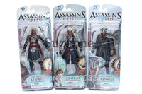 Wholesale 2016 New Action figure Assassins Creed Assassins s game doll Edward Canvey Cosplay New in Orginal Box