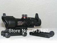 acog green - Tactical Trijicon ACOG Style x32 Red Green Dot Rifle Scope
