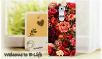 Antecedentes de teléfono España-Venta al por mayor a 2015 colorido brillante Rose Peony florece el fondo para LG Optimus G2 D802 D801 teléfono celular cubierta de la caja campana de la piel del protector