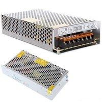 al por mayor interruptores de suministro de energía-El transformador llevado 12V 5A 60W 10A 120W 15A 180W 20A 30A 40A 480W LED que cambia la fuente de alimentación para los módulos llevados de las tiras libera el envío