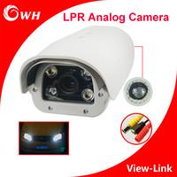 anpr camera - CWH AHV6 H LPR Camera with quot Sony CCD TVL Chip ANPR Camera Vehicle Speed KM H Vari lens mm with IR Leds