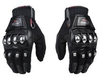 Wholesale New Hot Strong Metal Knuckle Mad Racing Motocross Enduro Motorbike Motorcycle Riding Armour Gloves Autumn Spring M XXL