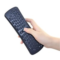 Wholesale 2 GHz Wireless Mini T6 Fly Air Mouse Gyroscope Qwerty Keyboard Remote Control for Android TV Box Mini PC M8 MXQ CS918 MXIII