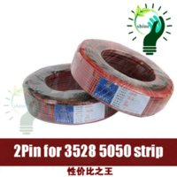 Wholesale 2 Meters Pin AWG Channels LED Strip Extension Wire Extend led strip Cable Cord Connector DE
