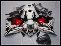 Wholesale NEW High quality injection fairings gift ABS Fairing fit for HONDA CBR600RR CBR600 RED FLAME nice