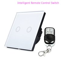 Wholesale Remote control touch switch for home and hotel colors Touch Remote Switch Gang Intelligent Control Switch