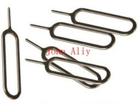 Wholesale SIM Card Tray Eject Ejector Pin Removal Tools Key For Apple iPad iPhone S s for Apple Iphone