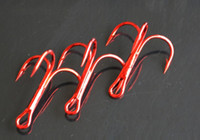 Wholesale 2015 Best Red Fishing Hook Lure Treble Hooks Sea Fishing Hooks Multicolor Sea Hook Fishing Tackle