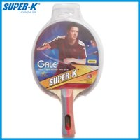 brand tennis racket - Mesuca Sport Super K Brand Quality Table tennis rackets Pimples in rubber racket Long Handle One Star Pingpong Paddle ST101